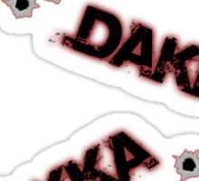 Dakka Dakka Dakka Sticker