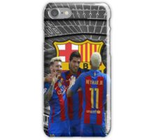 Barca MSN iPhone Case/Skin