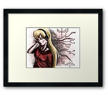 Circuit Boards and Machine Code #1 Framed Print