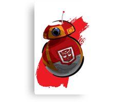 Autobot-BB8 Canvas Print