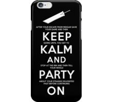 Keep Kalm iPhone Case/Skin
