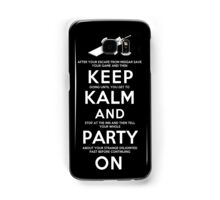 Keep Kalm Samsung Galaxy Case/Skin