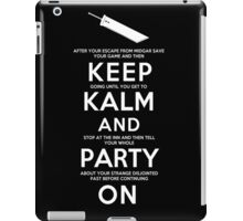Keep Kalm iPad Case/Skin