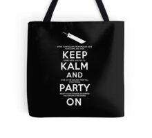Keep Kalm Tote Bag