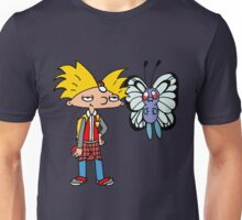 Hey Arnold! Pokemon Trainer Unisex T-Shirt