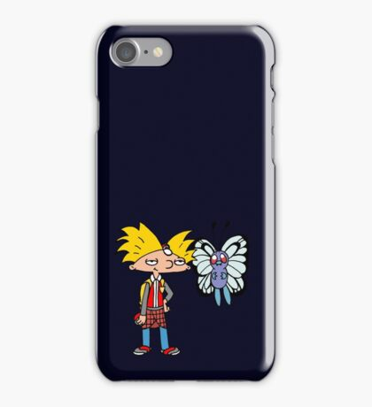 Hey Arnold! Pokemon Trainer iPhone Case/Skin