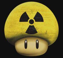 Atomic Mario's mushroom by Laflagan