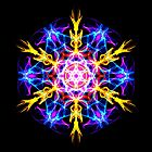 Energetic Geometry-   Merkaba Activation . by Leah McNeir