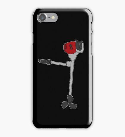 Outboard Motor / Aussenborder (comedy cartoon) iPhone Case/Skin