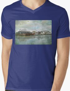 Soulful Waters Mens V-Neck T-Shirt