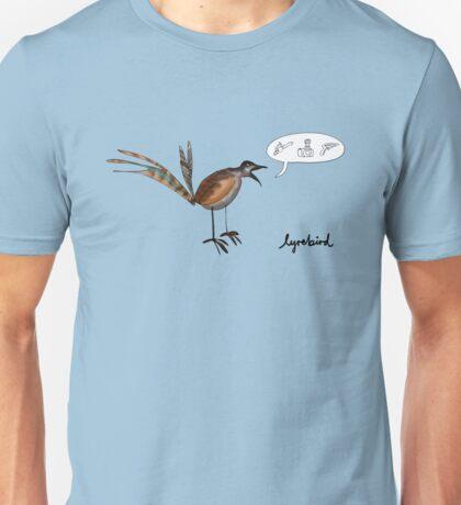 Lyrebird Unisex T-Shirt