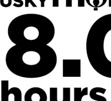 18 Hours Sticker