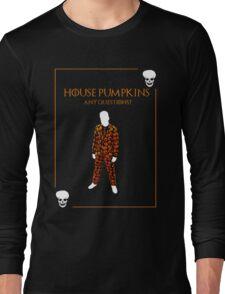 House Pumpkins Long Sleeve T-Shirt