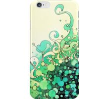Visible Connections - Watercolor and Pen Art iPhone Case/Skin