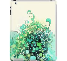 Visible Connections - Watercolor and Pen Art iPad Case/Skin