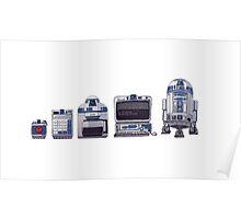 R2D2 Evolution Poster