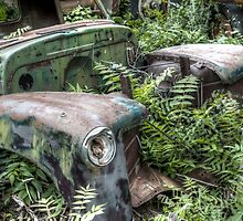 "Jerome, Arizona - ""Going Green"" by Candy Gemmill"