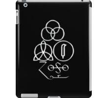ANCIENT PAGAN SYMBOLS - CHROME iPad Case/Skin