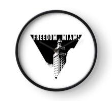 Freedom Tower Miami Dade 305 Liberty Libertarian Clock