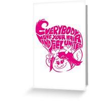 Poppy (trolls) Greeting Card