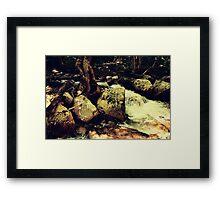 cascades, 3 Framed Print