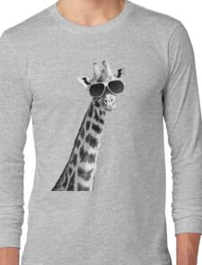 Cool Giraffe Long Sleeve T-Shirt