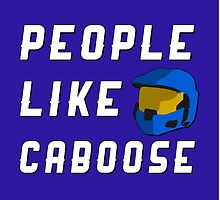 People Like Caboose by direlywolf