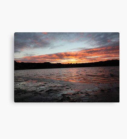 South Cove Sunset  Canvas Print