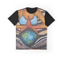 Peace in Mother Earth Graphic T-Shirt