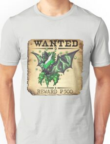 Dark/Poison Bat Most Wanted Poster Unisex T-Shirt