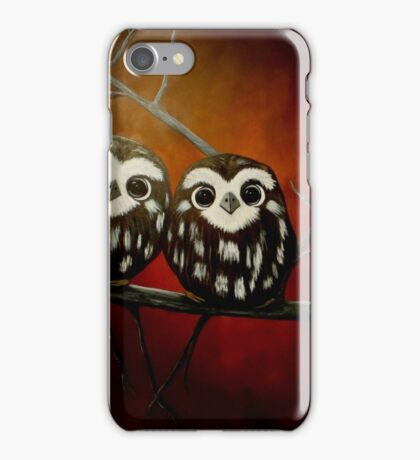 Baby Owlets iPhone Case/Skin