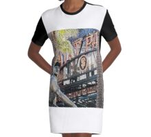 San Francisco Giants Main Gate Graphic T-Shirt Dress
