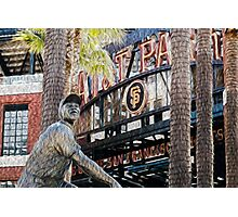 San Francisco Giants Main Gate Photographic Print