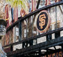 San Francisco Giants Main Gate Sticker