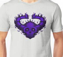 Demon Skull: Hellfire Unisex T-Shirt