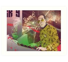 Fear & Loathing in Outer Space Art Print