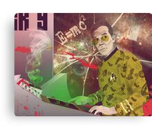 Fear & Loathing in Outer Space Canvas Print