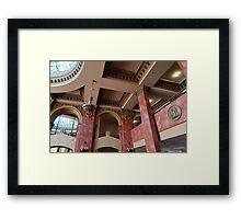 Architecture - El Paso Framed Print