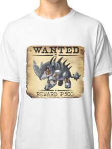 War Rhino - Most Wanted Poster Classic T-Shirt