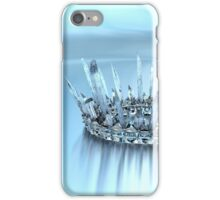 Icicle Crown iPhone Case/Skin