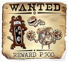Like Clockwork Family - Most Wanted Poster Poster