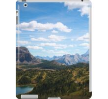 Lake below iPad Case/Skin
