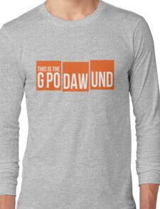GPODAWUND #GPODAWUND - Football Funny Long Sleeve T-Shirt