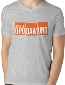 GPODAWUND #GPODAWUND - Football Funny Mens V-Neck T-Shirt