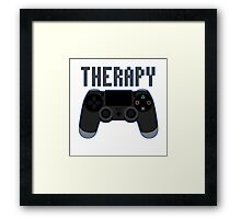 Video Game therapy Framed Print