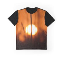 Sunset Cut In Half | East Moriches, New York  Graphic T-Shirt