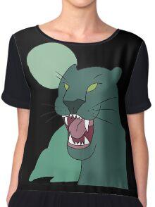 panther shirt, gravity falls Chiffon Top