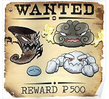 Weather Conditions - Most Wanted Poster Poster