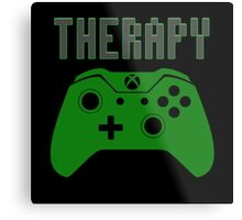 Video Game therapy Metal Print