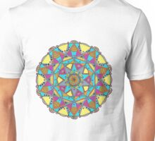 Mandala: Harmonious Decad Unisex T-Shirt